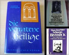 Biografien, Memoiren Sammlung erstellt von Versandantiquariat Schröter