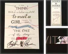 Bookmark, Signed Curated by First Edition First Print My First Name