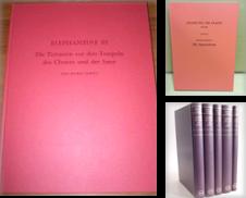 """Antike und Archäologie Sammlung erstellt von Antiquariat """"Der Büchergärtner"""""""