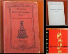 Backbücher Sammlung erstellt von Antiquariat Rump