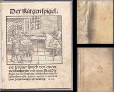 Alte Drucke Sammlung erstellt von Antiquariat Burgverlag