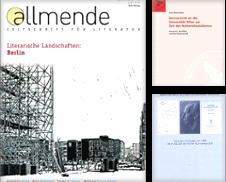 Germanistik Sammlung erstellt von Versandantiquariat E.Rosa Neuhäusel