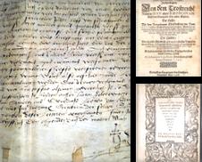 Drucke des 16. Jahrhunderts erstellt von Antiquariat Uwe Turszynski