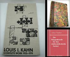 Architektur (Kunstdenkmäler) Sammlung erstellt von Müller & Gräff e.K.