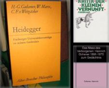 Philosophie Sammlung erstellt von Bibliothek der Erzabtei Beuron