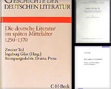 Germanistik Sammlung erstellt von Antiquariat Alte Seiten Göttingen