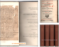 Altphilologie, Antike Sammlung erstellt von Heinrich Heine Antiquariat oHG