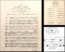 Arien, Manuskripte, Sammelbände Sammlung erstellt von Paul van Kuik Antiquarian Music
