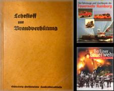 Brandschutz Sammlung erstellt von Antiquariat J. Hünteler