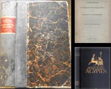 Ägyptologie Sammlung erstellt von Antiquariat Carl Wegner