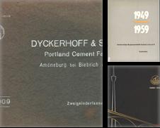 Bauwirtschaft Sammlung erstellt von Antiquariat Hohmann