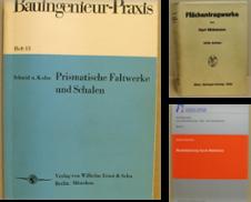 Bauwesen Sammlung erstellt von Antiquariat Thieme