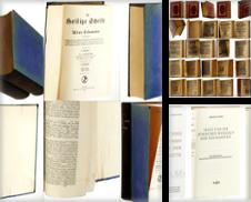 B 02 Bibelwissenschaft Sammlung erstellt von Antiquariat Lehmann-Dronke