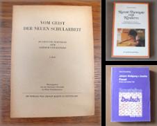 Pädagogik Sammlung erstellt von Antiquariat Sasserath