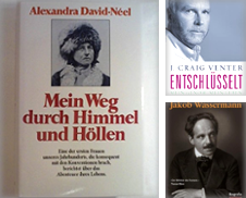 Biographien, Memoiren, Briefe Sammlung erstellt von Buchhandlung&Antiquariat Arnold Pascher