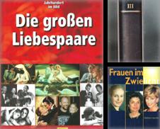 Biografien Sammlung erstellt von Bücherhandel-im-Netz/Versandantiquariat