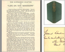 18-19th century USA Fiction, Poetry & Essays Curated by William Reese Company - Literature, ABAA