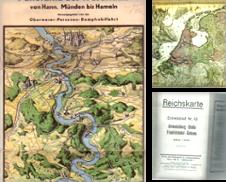 LANDKARTEN erstellt von Antiquariat und Buchhandlung Carl Wegner
