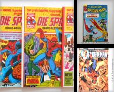 Comic Superhelden Spider-Man erstellt von KULTur-Antiquariat