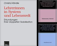 Bildung Sammlung erstellt von Antiquariat Dr. Rainer Minx, Bücherstadt