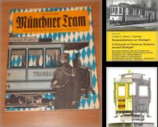 3910 Straßenbahn regional Sammlung erstellt von Antiquariat Dr. Christian Broy