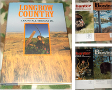 Archery, Shooting and Hunting including signed Curated by GoFishing Books
