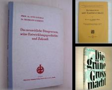 Agrarpolitik Sammlung erstellt von Antiquariat Hamecher