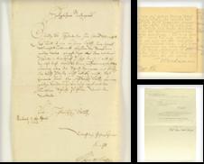 Autographen, Manuskripte, Urkunden Proposé par Antiquariat Wolfgang Friebes