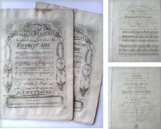 Engraved sheet music pre-1840 Curated by At the Sign of the Pipe