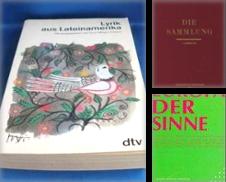 ANTHOLOGIEN Sammlung erstellt von Antiquariat der Neun Reiche