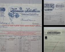 Alte Firmenrechnungen Sammlung erstellt von Antiquariat Heinzelmännchen