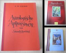 Astrologie Sammlung erstellt von Antiquariat auf'm Sundern