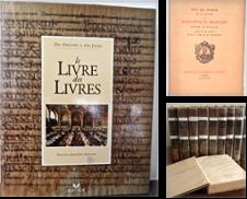 Bibliophilie Histoire du livre Proposé par Nicole Perray