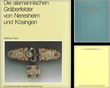 Archäologie Sammlung erstellt von Antiquariat J. Kitzinger
