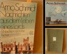 ARNO-SCHMIDT Sammlung erstellt von Bouquiniste