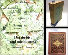 Anthologien Sammlung erstellt von Versand-Antiquariat Konrad von Agris