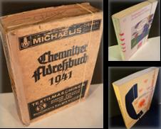 Adreßbücher Sammlung erstellt von Kunze, Gernot, Versandantiquariat