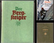 Alpinistik Sammlung erstellt von GAENSAN Versandantiquariat