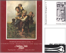 Ausstellungskataloge Sammlung erstellt von Versandantiquariat Karin Dykes