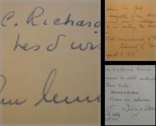 Biography Sammlung erstellt von Brainerd Phillipson Rare Books