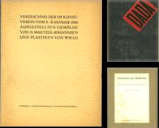 Ausstellungskataloge Sammlung erstellt von Stader Kunst-Buch-Kabinett ILAB