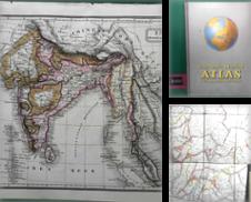 Atlanten Sammlung erstellt von Antiquariat Deinbacher