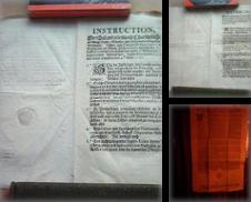 Dokumente Urkunden Curated by Antiquariat Antik-Bücher,  Inh. Erdmann