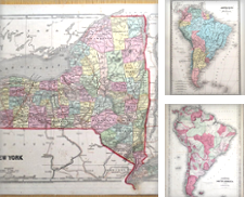AMERICAS Original Antique MAPS of North, South and Central America Curated by Lindisfarne Prints