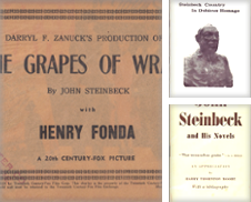 Steinbeckiana Curated by James M. Dourgarian, Bookman ABAA