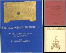 Archäologie Sammlung erstellt von Antiquariat Buchseite