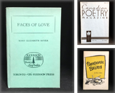 Canadian Poetry de Burton Lysecki Books, ABAC/ILAB