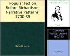Englische Literatur (English Literature) Sammlung erstellt von Ganymed - Wissenschaftliches Antiquariat