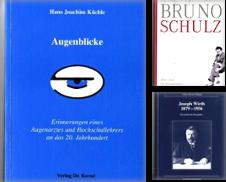 Biographien Sammlung erstellt von Versandantiquariat Wolter
