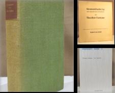 Fontane Sammlung erstellt von Antiquariat Dieter Eckert